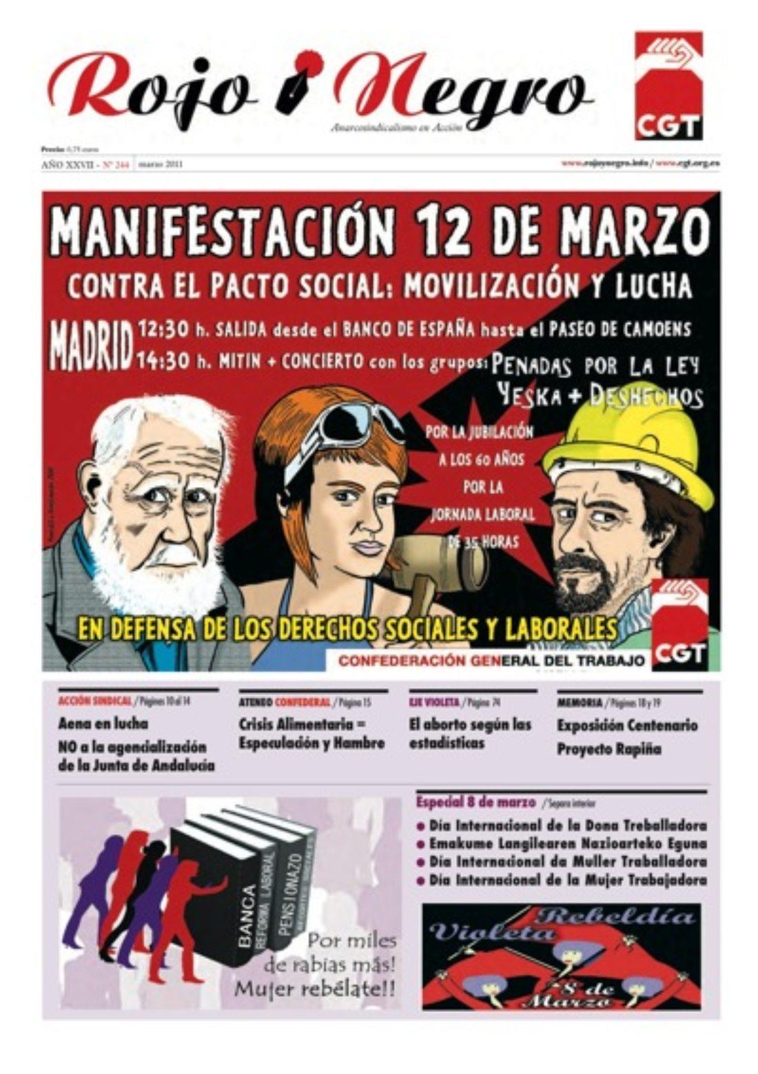 Rojo y Negro 244 – marzo 2011