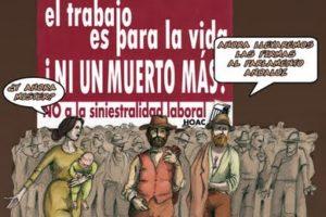 Ante dos nuevas muertes en el trabajo en Navarra