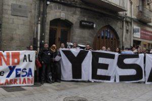 Protesta contra el embalse de Yesa (12 marzo)