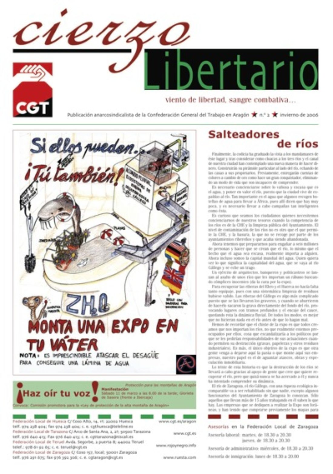Cierzo Libertario nº2 – otoño 2006