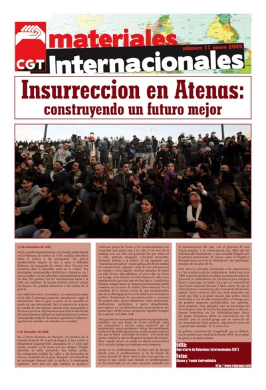 Materiales Internacionales 11: Insurrección en Atenas