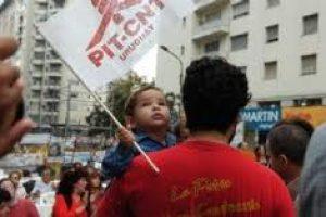 Uruguay: sindicalistas detenidos por difundir volantes