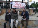En apoyo de Pepe Fuentes, 34 días en huelga de hambre