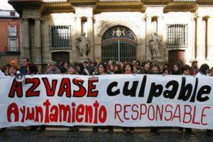 Apoyo a las trabajadoras de Azvase (Pamplona)
