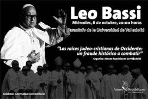 Libertad de expresión… en apoyo a Leo Bassi