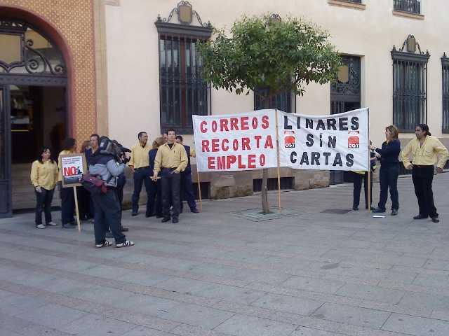 Correos Linares: Inicio de movilizaciones anti-colindancias