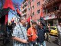 Manifestación unitaria de 1º de mayo en Sta. Cruz de Tenerife