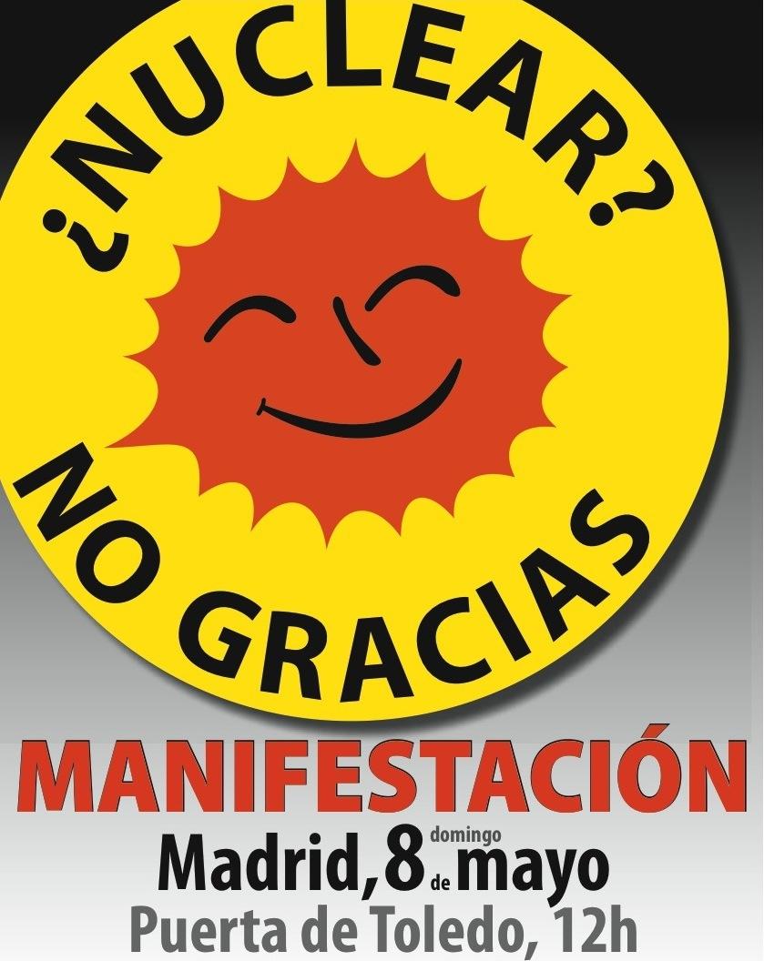 8 mayo madrid NO nuclear