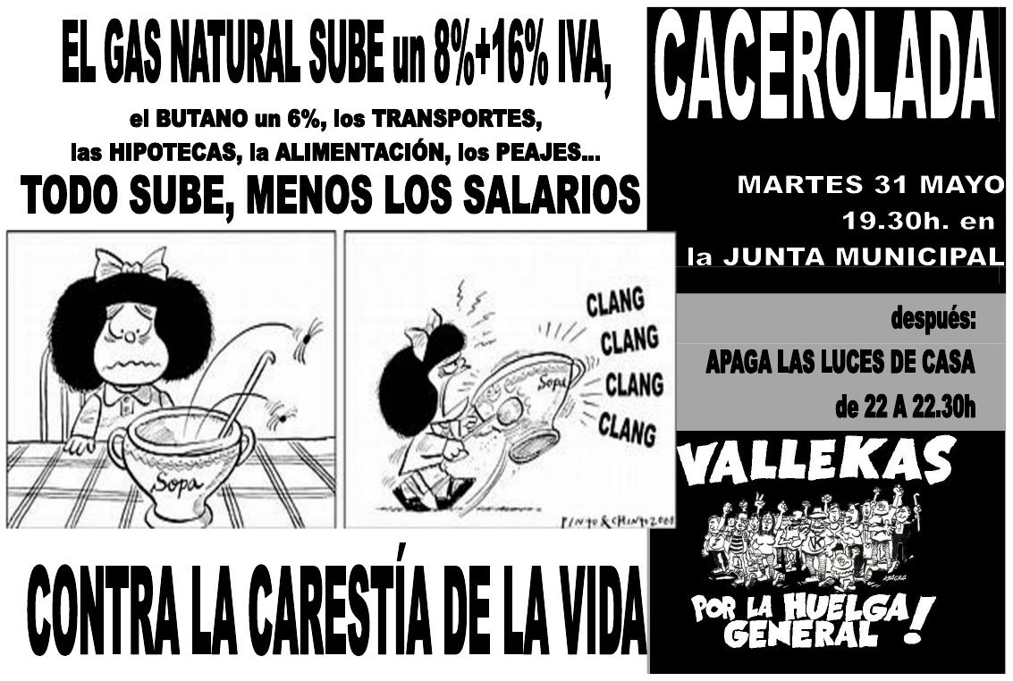cacerola Vallekas