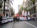 Una cacerolada visita a los responsables de los recortes sociales en Valencia