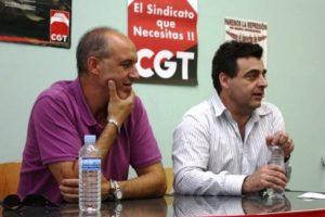 Homenaje del SOV de CGT Salamanca a Eladio Villanueva