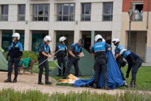 El Tribunal Supremo inadmite el recurso del Ayuntamiento de Valladolid contra la sentencia que declara ilegal el desalojo del campamento libertario de CGT