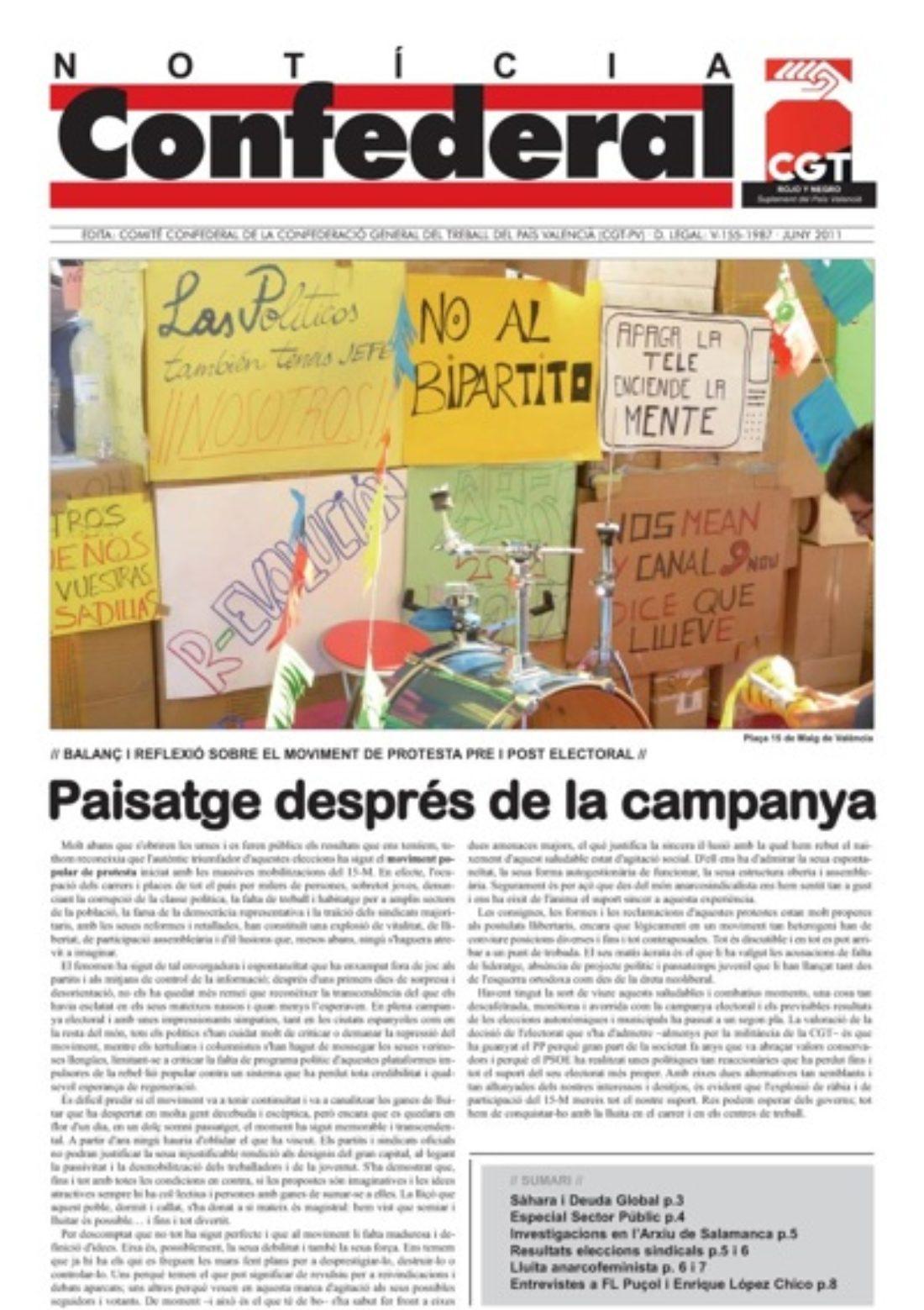 Noticia Confederal junio 2011