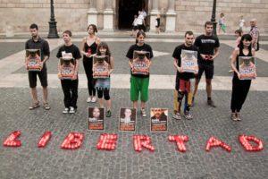 CGT-Vigo en Solidaridad Presos por los Animales