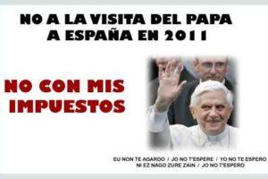 """Juan J. Alcalde: """"¡¡Que viene el Papa!!"""""""