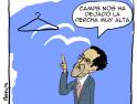 Pereyra: «La percha muy alta»