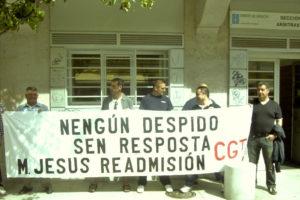Despido de trabajadora de limpieza en Vigo