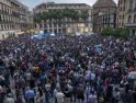 Seis heridos en la carga policial durante la concentración pacífica frente al CIE Málaga