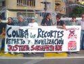 Iruñea: Movilización de CGT contra los recortes