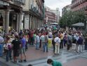 Concentración 15M en Valladolid contra la reforma constitucional