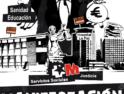 Madrid: Manifestación «Banqueros y políticos, ¡Sacad vuestras manos de los servicios públicos!»