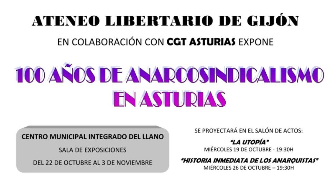 100 años de anarcosindicalismo en Asturias