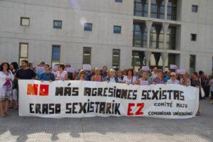 Navarra: ¡No más agresiones sexistas!