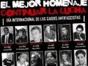 Madrid: Concentración en recuerdo de Carlos y tod@s l@s asesinad@s por el fascismo
