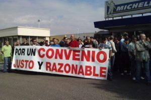 Conflicto en Michelin tras once meses sin covenio