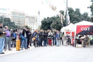 Jornada de Reflexión en Plaça Catalunya de Barcelona (18 nov)