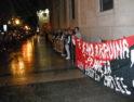 Una cadena humana toma el Banco de España en Alicante