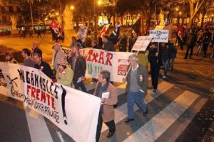 [Semana de lucha] Manifestación 18-N en Pamplona-Iruñea