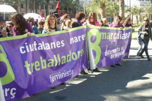 Fotos 8 de Marzo CGT Valencia y Alicante