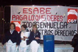 Alacant: Huelga de limpieza en el Hospital General y 13 centros de salud