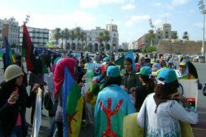 Manifestaciones en Libia contra el gobierno impuesto y antidemocrático del CNT