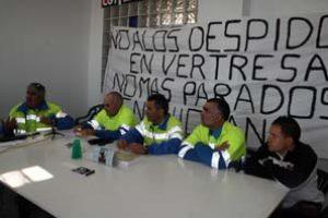 """Comité de empresa de """"Vertresa"""" pide reincorporación de los once despedidos"""
