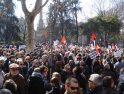 Multitudinaria manifestación en Madrid contra la reforma laboral
