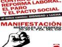 Burgos: Manifestación de CGT contra la Reforma, el Paro, los Recortes y el Pacto Social