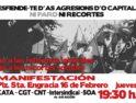 Zaragoza: Manifestación unitaria contra los recortes y la reforma laboral