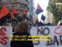 Murcia: Empujones a cuenta de la huelga general