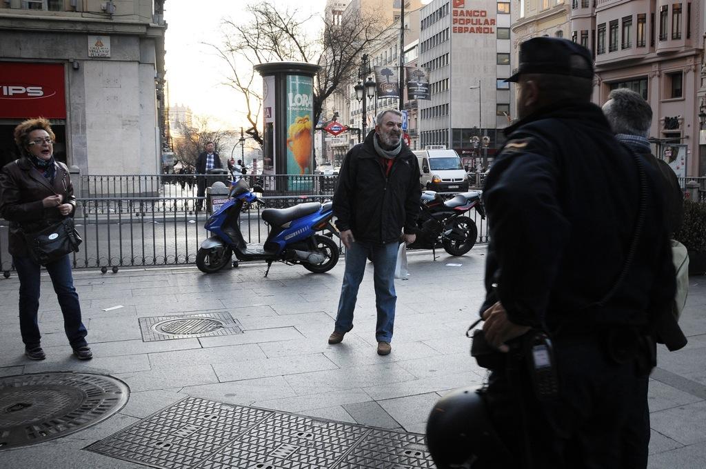 Foto-Crónica: La mañana del 29M en Madrid