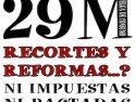 Actos de CGT Costa Granada para la Huelga General 29M