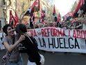 Manifestación histórica en Madrid del sindicalismo alternativo y combativo