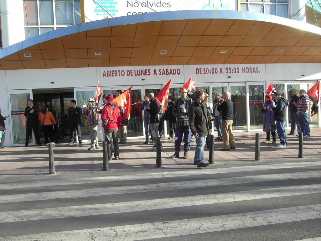 La huelga general en Salamanca