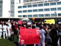 49 Concentración en el Hospital de Bellvitge