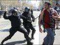 En marcha la criminalización de la protesta social