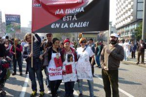 La jornada de lucha del 29 de marzo en Oviedo