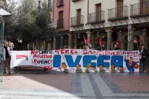 Concentración de IVECO Valladolid