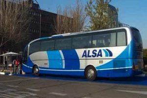 ALSA Andalucía despide a un conductor de forma fulminante por un accidente