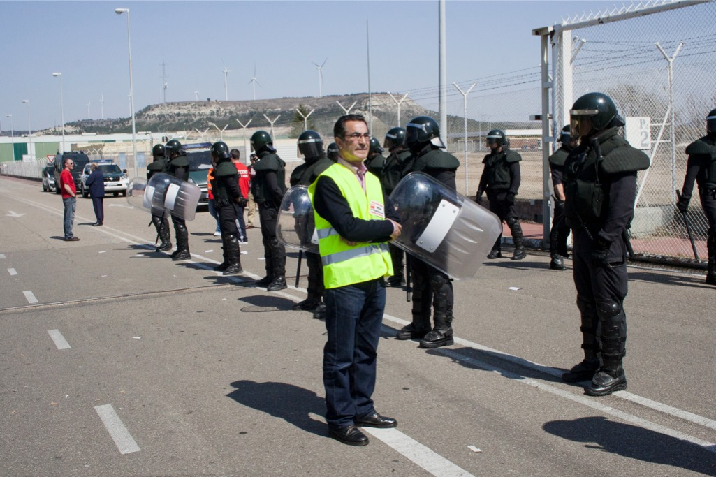 Fotos de CGT Palencia en la Huelga General del 29M